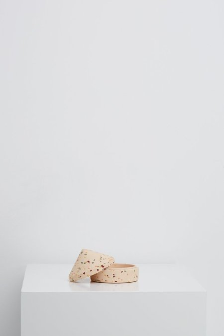 Capra Designs Terrazzo Salt Keepsake Box