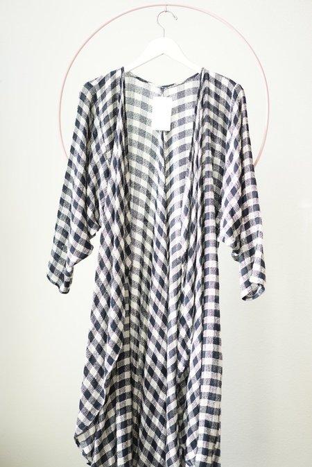 Vintage Backtalk PDX Checkered Sweater