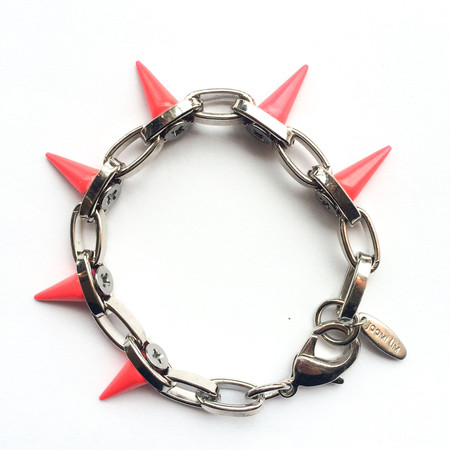 Joomi Lim Single Row Neon Spike Bracelet