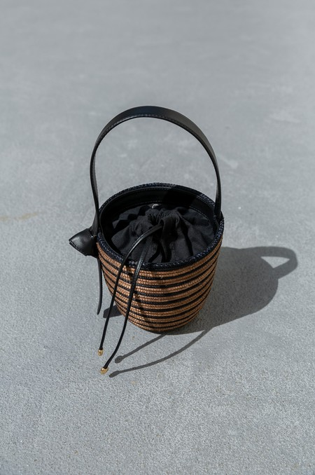 CESTA COLLECTIVE BRETON LUNCHPAIL - CAMEL/BLACK