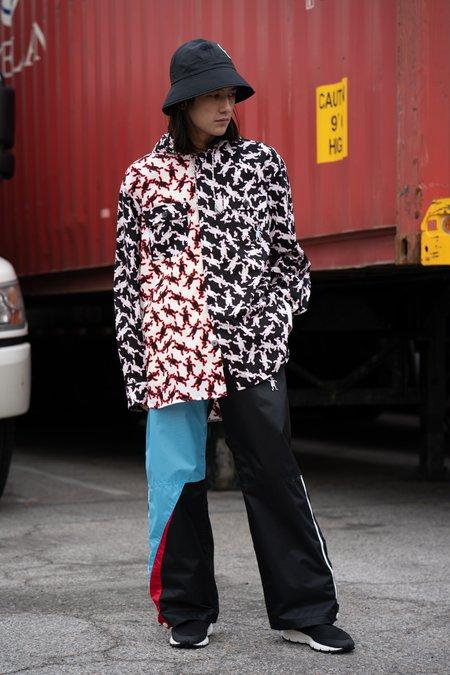 Marni DANCE BUNNY Hooded Poplin Shirt