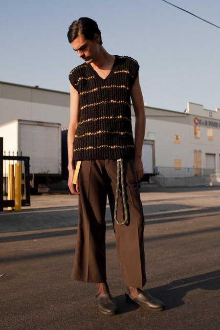 Marni Hand Knit Long Sweater Vest