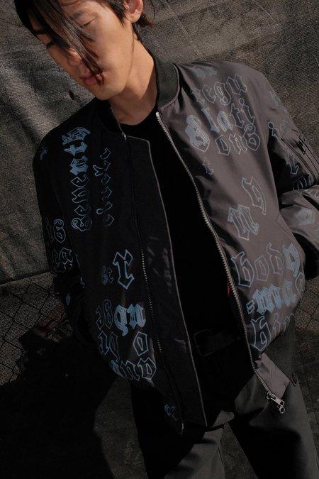 Yang Li KTC Reflective Bomber Jacket