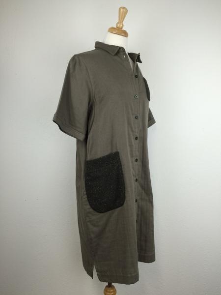 wrk-shp Savoye Shirt Dress