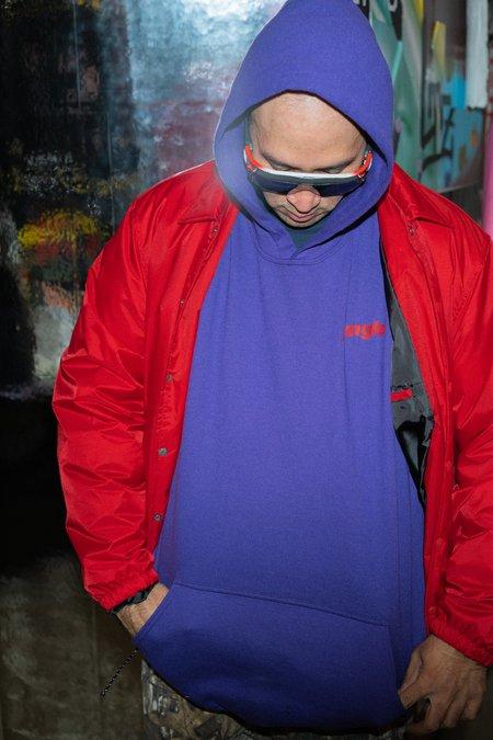 4THSEX Jungle Hoodie - Purple