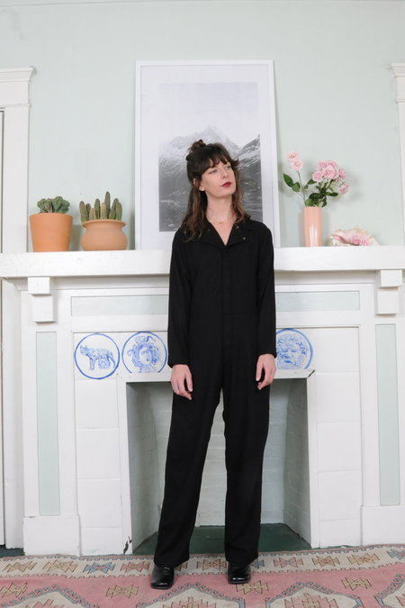 Jmy James Kidd Linen Jumpsuit - BLACK