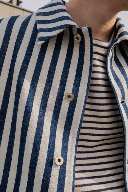 LOEWE Striped Denim Jacket