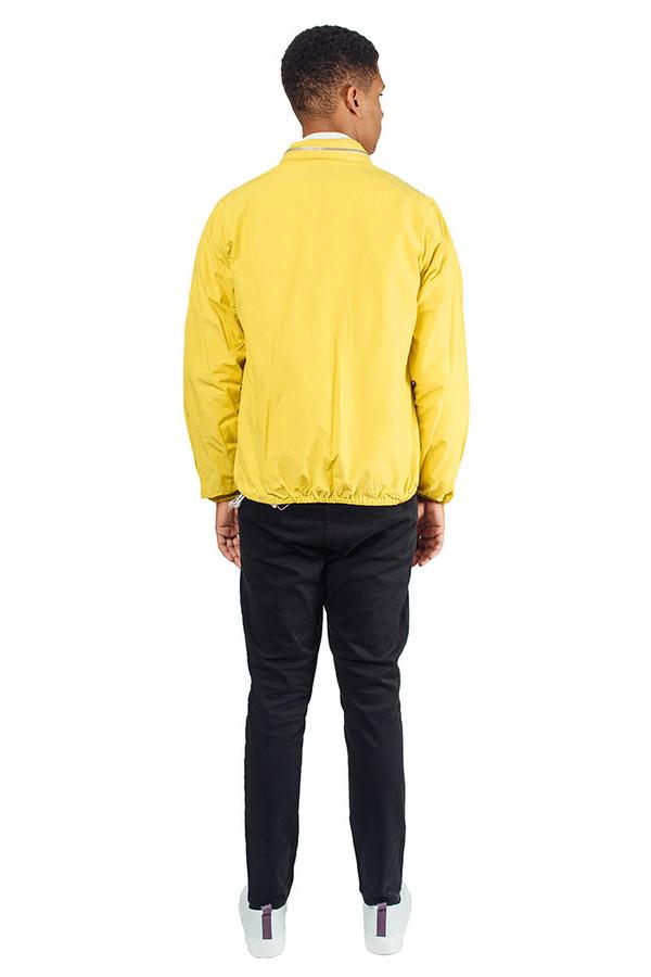 Men's YMC Double Zip Jacket Yellow