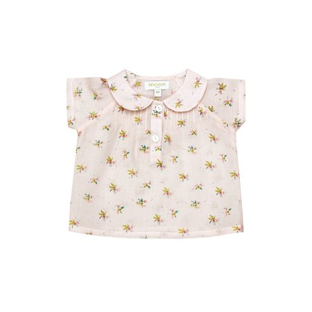 KIDS Moon Paris Heloise Baby Blouse - Light Flowers
