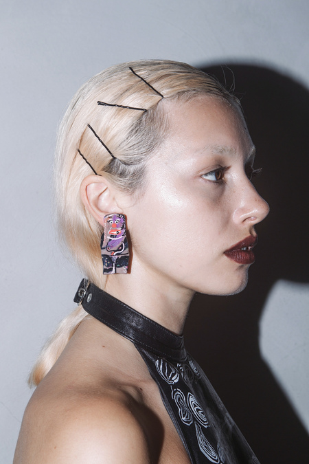 CLAIRE BARROW 'SEXY' PEOPLE EARRINGS #3