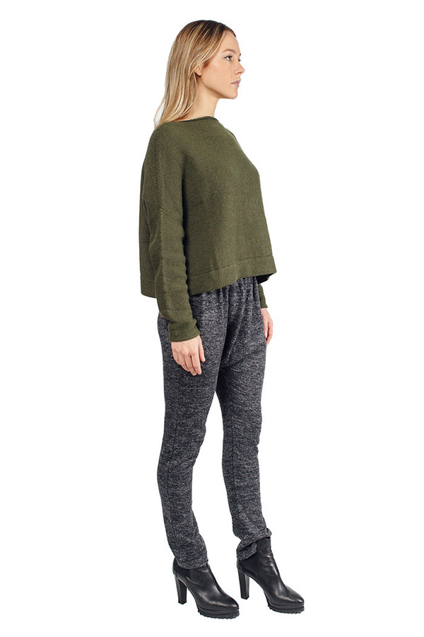 Lauren Manoogian Skinny Arch Pants Charcoal
