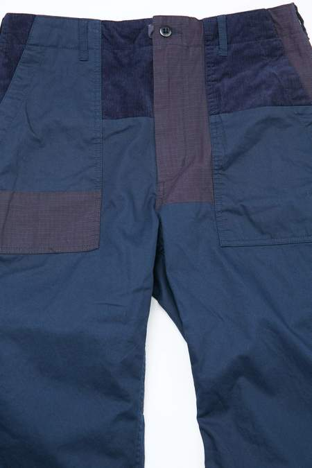 Engineered Garments Flat Twill Fatigue Pant - Navy