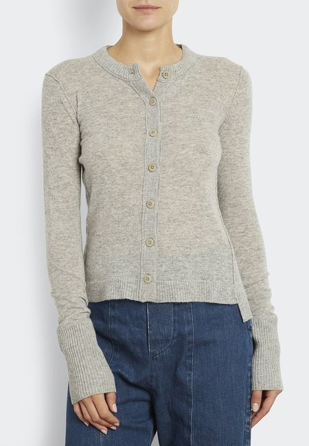 Inhabit 100% Cashmere Everyday Cardi - Ash