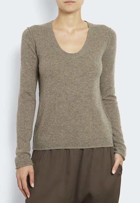 Inhabit 100% Cashmere Must Have U - Antler