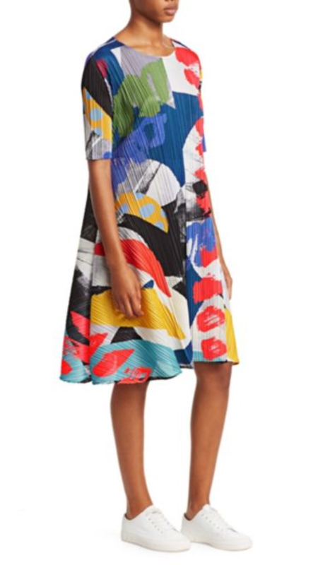 Issey Miyake Laughing Rope Dress - Multi