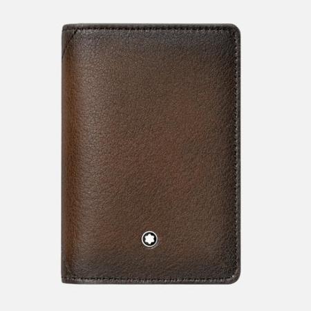 Montblanc Meisterstuck Sfumato Business Card Holder - Brown