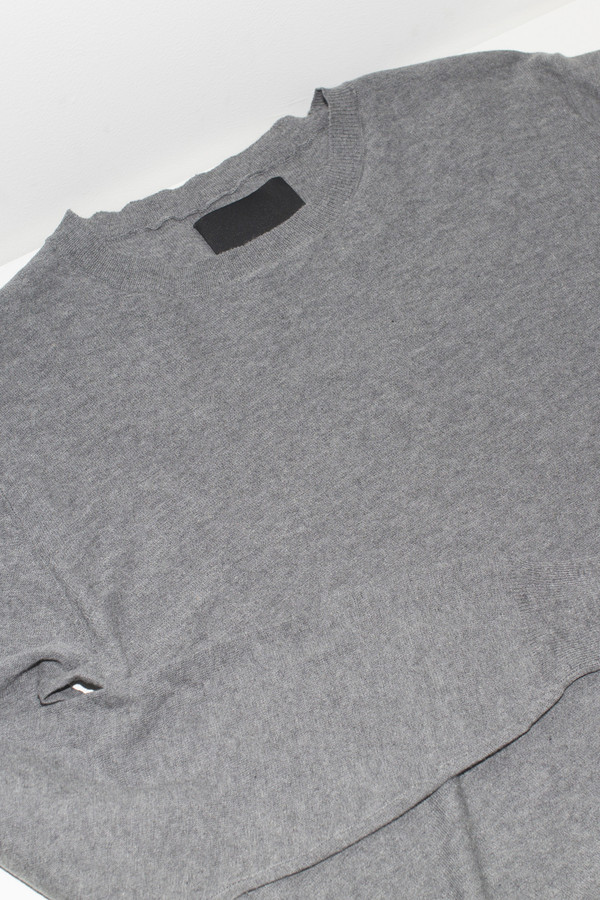 Assembly Grey Antwerp Cotton Pullover