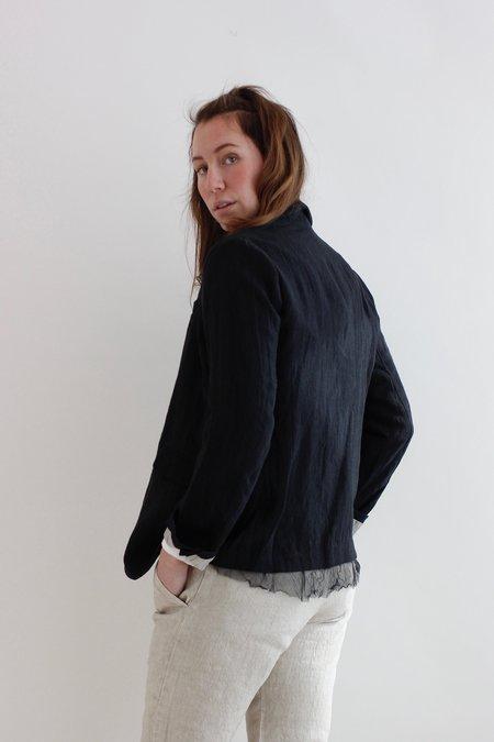 Pas De Calais Linen Jacket - Black