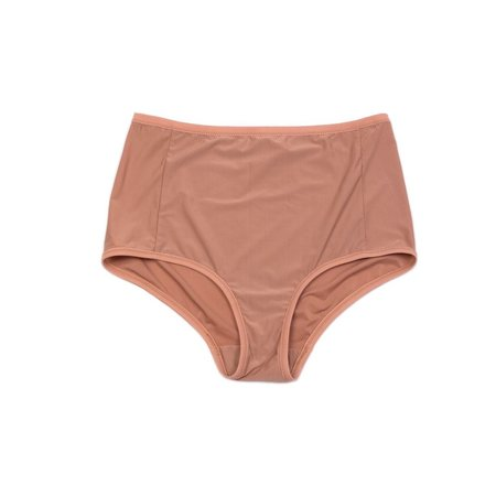 Land of Women Supersoft Highwaisted Brief - Nude