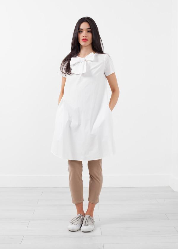 Hache Babydoll Bow Dress
