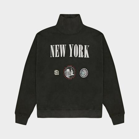 Alexander Wang New York Souvenir Sweatshirt - Acid Black