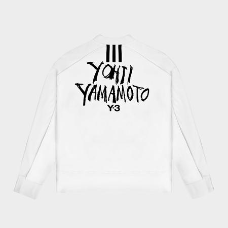 Adidas Signature Graphic Sweatshirt - Core White