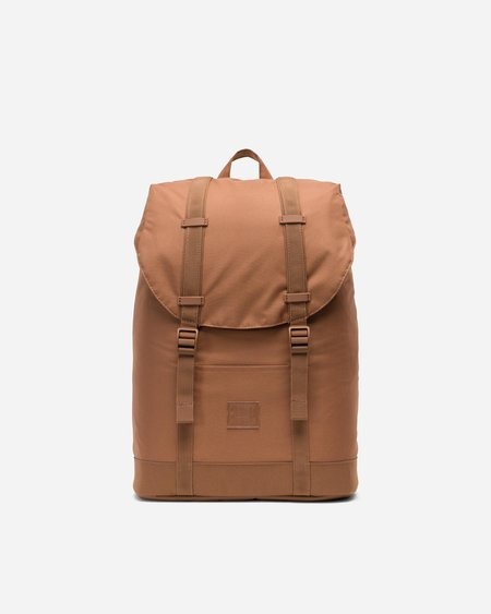 Herschel Supply Co Retreat Mid Volume Light Backpack - Saddle Brown