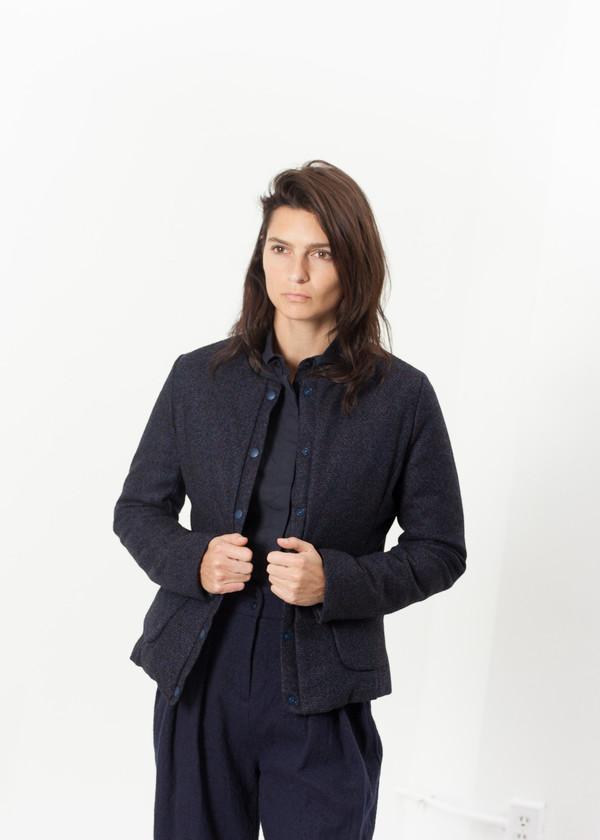 Lardini Camelia Reversible Jacket in Navy/Blue