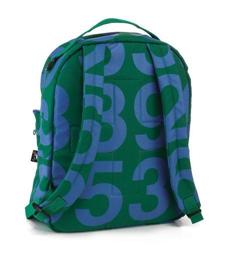 Kids Nununu Numbered Backpack - Green