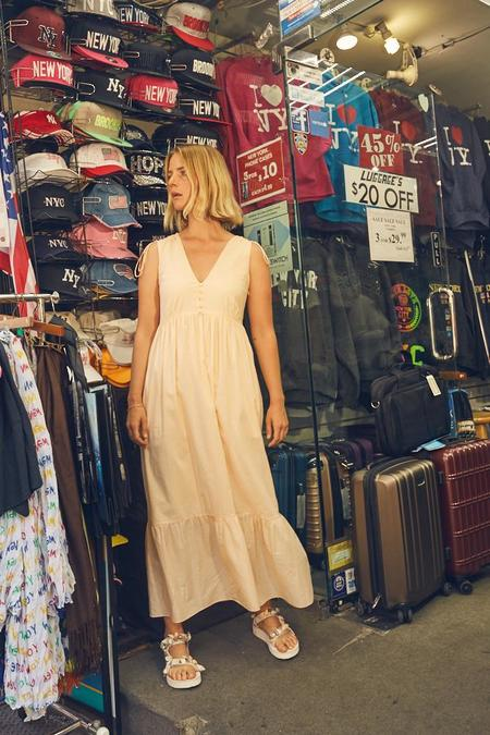 Rachel Antonoff Rusty Dress - Cantaloupe