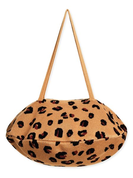 Hansel from Basel Cheetah Pita Bag