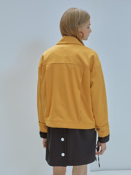 ANEDIT Loose Fit Jacket - Yellow