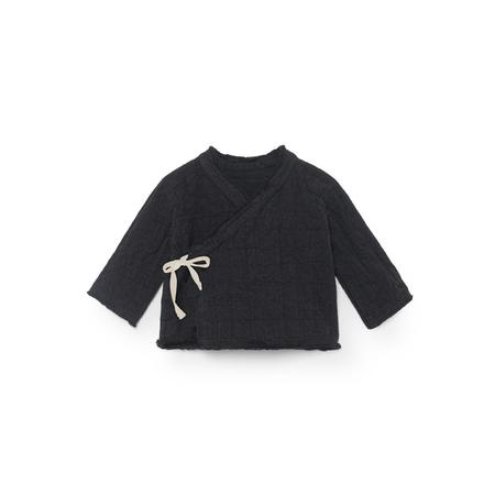 KIDS Little Creative Factory Menka Baby Kimono Jacket - Black
