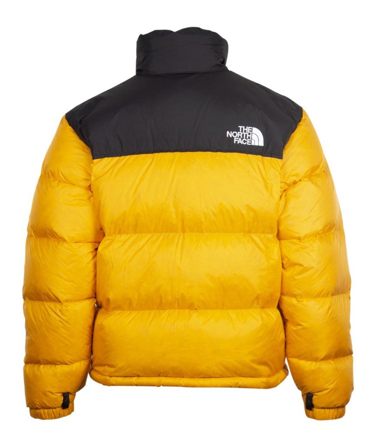 1996 Retro The North Jacket Nuptse Face Orange PukiOZTX