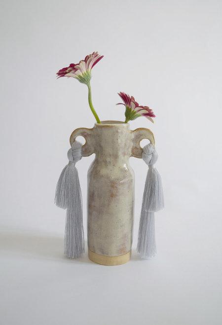 Karen Gayle Tinney Vase #606 - Gray