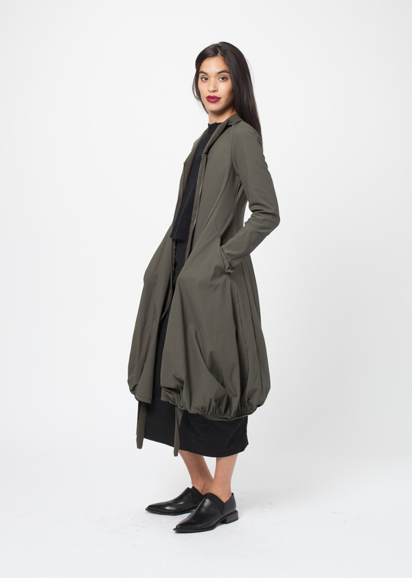 Gathered Coat