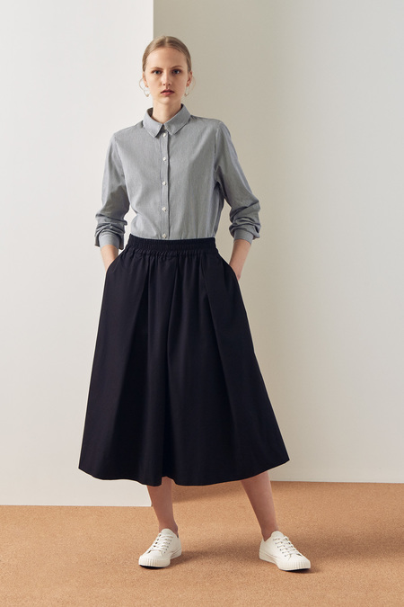 Kowtow Culottes in Black