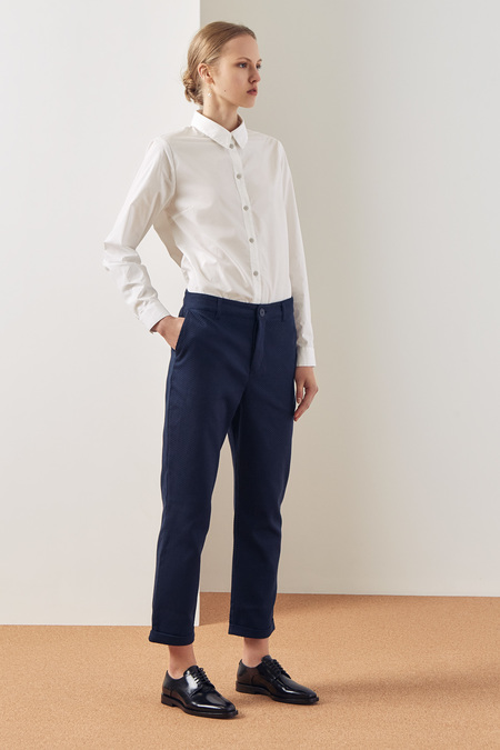 Kowtow Edition Pant in Navy