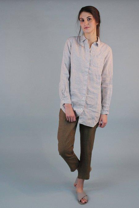 Studio 412 Boyfriend Shirt - Gray