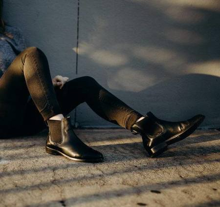Sutro Footwear Sharon Hi Chelsea boot - Black