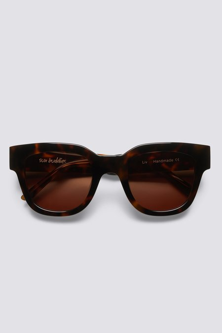 Sun Buddies Acetate Liv Eyewear - Brown Tortoise