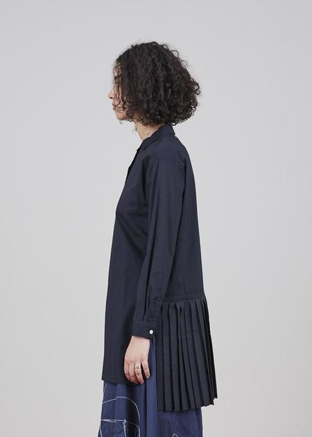 Yoshi Kondo Hero Pleated Shirt - Black