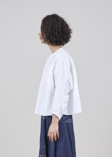 GRAMMAR NYC The Antecedent Shirt - White