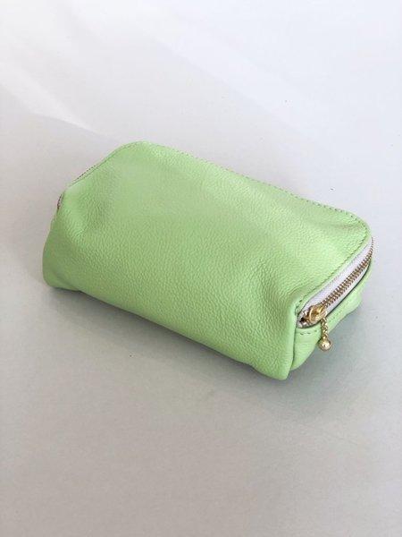 Erin Templeton Kiss and Makeup Bag - Lime