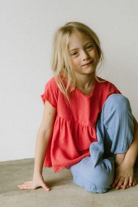 KIDS Boy+Girl Liv Harem Pant - Cornflower