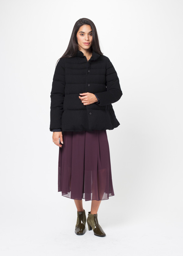 Co Knit Puffer Jacket