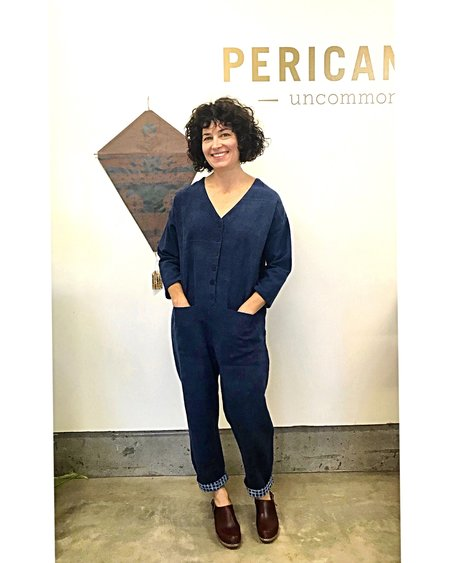 Happy French Gang Naturally dyed cotton jumpsuit