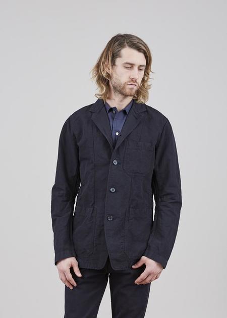 Sage de Cret Unlined Four Button Jacket - Black