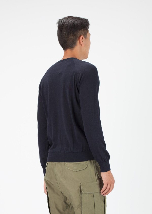 Men's Avant Toi Lightweight Long Sleeve Sweater