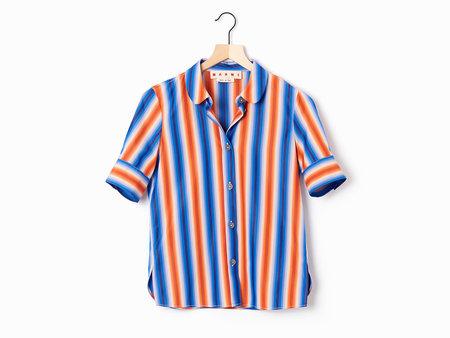 Marni Striped Poplin Shirt - Multi